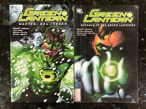 Green Lantern Vol 2 & 3 Wanted: Hal Jordan & Revenge Of The Green Lanterns TPB