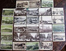 Lot de 12 cartes postales, MARSEILLE. La Corniche, Palace Hotel, Panorama de Mal