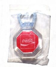 Vintage Rare Coca Cola Soda Pop Advertising Magnetic Fridge Beer Bottel Opener