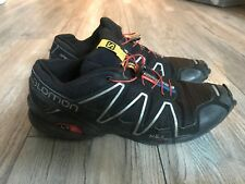 Salomon Men's Speedcross 3 Trail Running Shoe Black 10.5