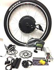 """RUOTA 26"""" 48v 1000W ruota anteriore Kit di conversione bici elettrica con KT LCD3"""