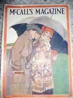 McCall's March 1914 Vol XLI Magazine Vintage fashion Jinks boy scout cut out