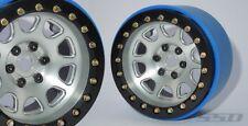 "SSD RC 2.2"" D Hole PL Beadlock Wheels (Silver) (2) SSD00154"