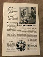 1929 advertisement Frigidaire - Waterman's Pens - Corona typewriters
