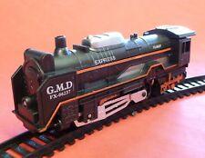Kinder Modelleisenbahn Lok EXPRESS Zug Komplett-SET mit Schienen         19051-2