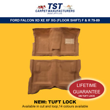 MOULDED CAR CARPET (F09) FORD FALCON XD XE XF XG (FLOOR  SHIFT) F & R 79-99