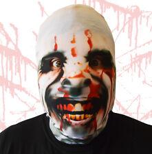 3D effet sang Vitrail MANIAQUE visage PEAU TISSU LYCRA Masque visage
