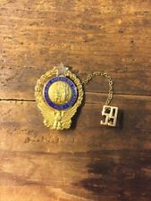 Disabled American Veteran Past Commander Pin 10k Gold 1959