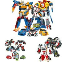Tobot 3 In 1 Transformation 3 Cars Robot Action Figure Merge Deformation Toys