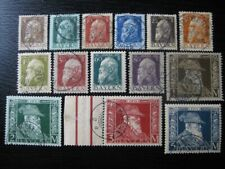 BAVARIA BAYERN GERMAN STATES Mi. #76-91 scarce complete stamp set! CV $480.00