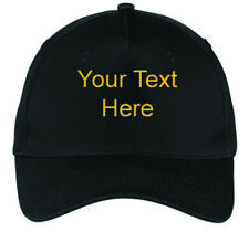 New Flexfit Flex Fit Baseball Hat Personalized Custom Embroidered Text for Cap