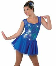 """A wish Come True Dance Costume 16436 """"all about that bass"""" Girls size 11-12 IMC"""
