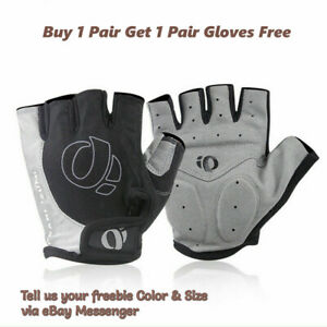 Pearl izumi Unisex Cycling Sports Half Finger Gloves Antislip (Buy 1 Get 1 Free)