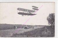 CPA  AVIATION aéroplane Wilbur Wright un virage