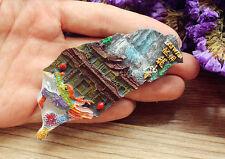 China Taiwan Reiseandenken 3D Polyresin Kühlschrankmagnet Reise Souvenir Magnet