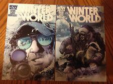 Winter World #1 Reg.  & #1 Sub-Variant - IDW Series - Show Soon