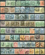 Uruguay - Lot with many duplicates (5 pages)  For varieties or cancellations