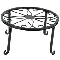 12-inch heavy pot plant stand, set of 2, art forged pot Trivet, solid iron  R3R7
