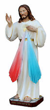 STATUA GESU' CONFIDO IN TE cm.60 - Misericordioso Jesus Merciful I Trust in you