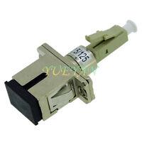 SC female to LC Male Fiber Optic Hybrid Adaptor VFL Testing Multimode MM62.5/125