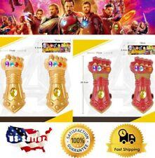 Thanos Infinity Stones Gauntlet Gloves Avengers Endgame Iron Man Glove Prop Toy