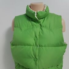 American Eagle Outfitters Reversible Down Vest Winter Puffer Women's Size Large