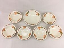 7 Piece Serving Bowl Set NEWHALL HANLEY England 1262 Bone China Soup Beautiful