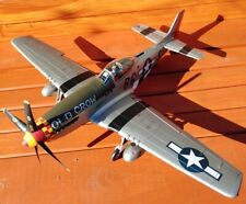 "New ListingUltimate Soldier X-D Wwii U.S. P51-D Mustang ""The Old Crow"" 1/18 Scale Aircraft"