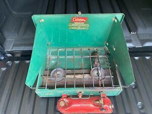Vintage Coleman 2 Burner Stove 425E