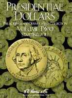 Presidential Dollar Folder Vol. II, P & D, Starting 2012 by H.E. Harris