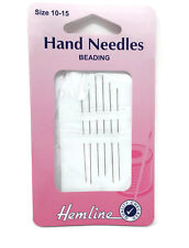 Hand Sewing Beading Needles Size 10-15 Super Fine Jewellery Making Threading