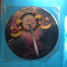"Toto-Toto-12"" PICTURE DISC-1978 Columbia    RARE  VG+"