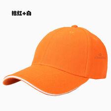 Men's Adjustable Plain Baseball Cap Women Hip-hop Hat Trucker Sport Cap Snapback