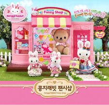 Konggi Rabbit Fancy Shop Doll Toy Korea Character Couple Girl Bear Candy Gift