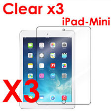 3x Apple iPad Mini 1 2 3 High Definition Clear Screen Protector Cover Film New