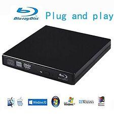 Blu-Ray Player External USB DVD RW Laptop Burner Drive New