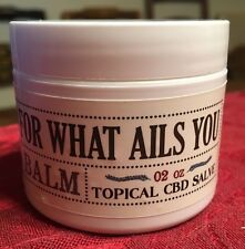 250mg CBD SALVE Pain Relief NO THC organic balm ointment Good For What Ails You