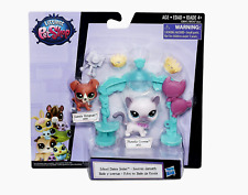New Littlest Pet Shop School Dance Smile 88 Danely Kingman 70 Plumella Crown LPS
