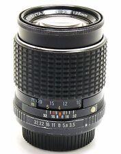 135mm f/3.5 SMC Pentax M lens K mount PK EXC