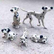 101 Dalmatians JIM Figurines Vintage 1950s-1960s Disney Hand Painted France