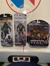 3 Halo action figures mcfarlane lot