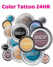 Maybelline Eye Studio Color Tattoo Eye shadow 24hr Gel | Choose your Shade |