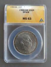 100 pesetas Spain 1966 (68), UNC