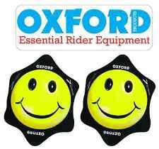 OF265 OXFORD COPPIA SAPONETTE SMILER SMILE GIALLE TUTA MOTO VELCRO