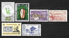 New Hebrides . Good collection .. 0882