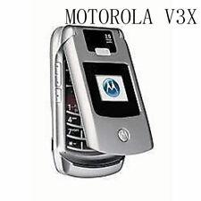Motorola Razr v3x Flip Cellphone Camera Bluetooth Mobile Phone Original Unlocked