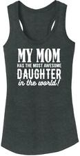 Ladies My Mom Has Best Daughter Tri-Blend Tank Top Mother Child