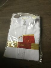 Boys white embroidered thobe Jubba size 36 BNWT