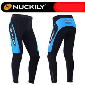 Women Winter Sports Leggings Warm Fleece Cycling Trouser Sponge Pad Cycling Pant