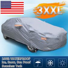 17ft Full Car Cover Waterproof Sun UV Snow Dust Rain Heat Resistant Protection